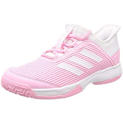 adidas Adizero Club K, Zapatillas de Tenis Unisex Niños, Rosa (True Pink/FTWR White/FTWR White True Pink/FTWR White/FTWR White), 38 2/3 EU
