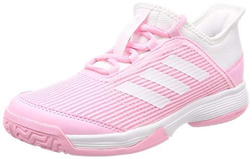 adidas Adizero Club K, Zapatillas de Tenis Unisex Niños, Rosa (True Pink/FTWR White/FTWR White True Pink/FTWR White/FTWR White), 39 EU
