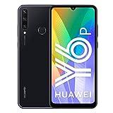 huawei y6p - smartphone 64gb, 3gb ram, dual sim, midnight black