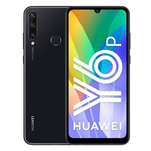 HUAWEI Y6p 2020 Leistungsstarker 5.000 mAh Akku, 13 MP 3-Fach Kamera, 64 GB großer Speicher, Midnight Black