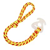 Arola Boat Tow Rope Quick Connector,Water Towable Tubes Accessories Perfect for Jet Ski,Tubing,Wave Runner. (Yellow&Red)