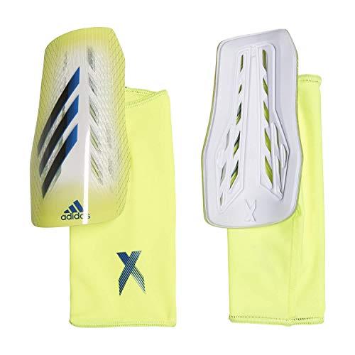 adidas X SG LGE Espinilleras, Adultos Unisex, Amasol/Negro/AZUREA (Multicolor), M