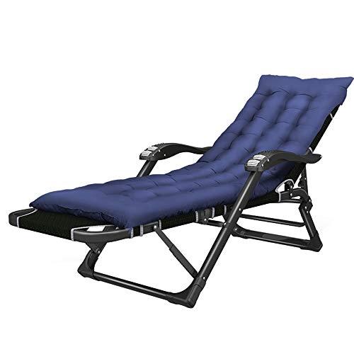 Folding table and chair Chaise Pliante Portable, Fauteuil Inclinable, Chaise Multi-Fonction Paresseuse pour Balcon, Jardin ExtéRieur, Camping, 178 × 33 × 67 Cm