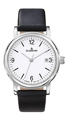 Dugena Damen-Armbanduhr Sportlich-Elegant Analog Quarz Leder 4460631