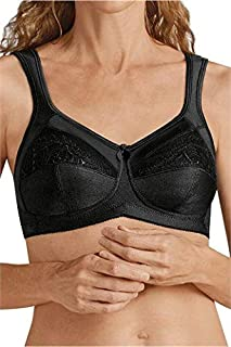 Women's Plus-Size Isadora Full Figure Wirefree Pocketed Bra
