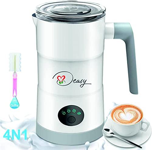 Deasy montalatte cappuccinatore 580ml con 4 funzioni: Cappuccino caldo, Cappuccino freddo, Latte caldo e cioccolata calda