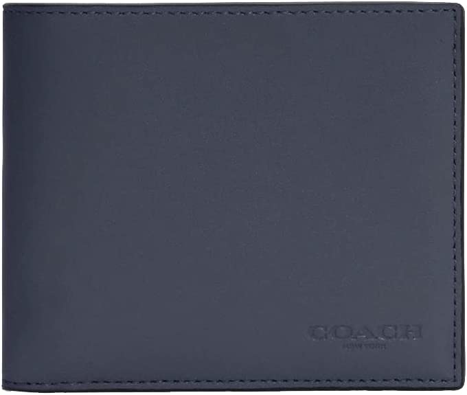 COACH Mens Leather 3 in 1 - Max 51% OFF Max 71% OFF Midnight Wallet N #C4333 Signature