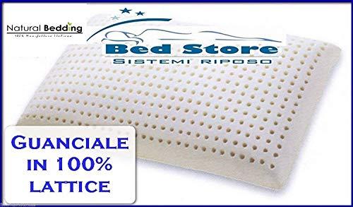 Cuscino guanciale in lattice 100% h 12 cm produttori per EX SAPSA, NATURAL BEDDING