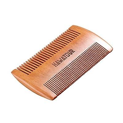 Beard Comb Natural Wood