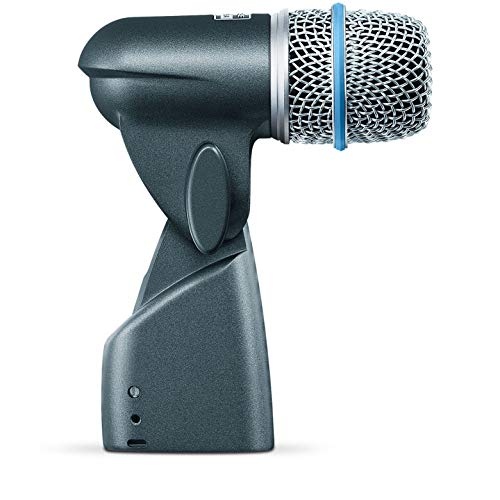 Shure BETA 56A Supercardioid Swivel-Mount Dynamic Microphone with High Output Neodymium Element for Vocal/Instrument Applications