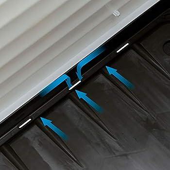 Ferplast Niche pour l'extérieur, Maison pour Chiens DOGVILLA 70 en Résine Thermo-plastique Résistant, Panneaux Latérales Ouvrable