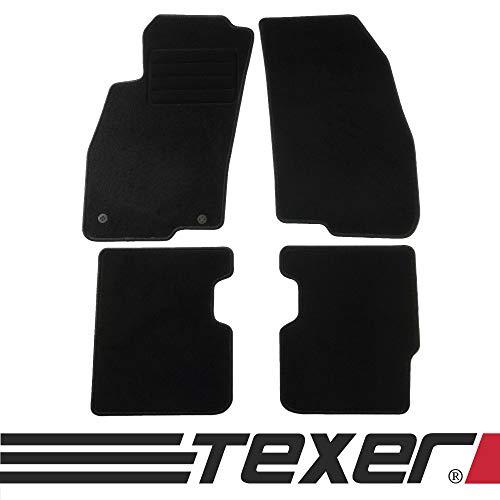 CARMAT TEXER Textil Fußmatten Passend für FIAT Punto Evo Bj. 2008-2012 Basic