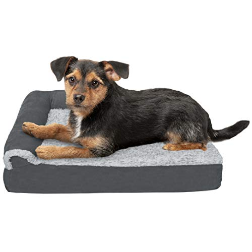 Furhaven Deluxe Orthopedic Chaise Lounge
