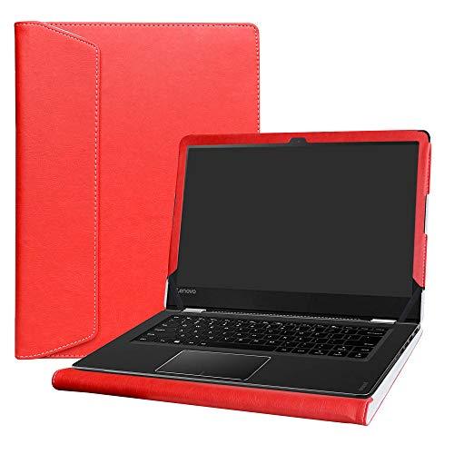 Alapmk Funda Protectora para portátil Lenovo Yoga 510 14 510-14ast 510-14isk de 14 Pulgadas, Color Rojo