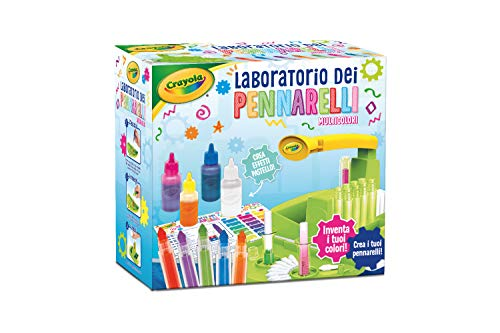 CRAYOLA - Laboratorio de rotuladores Multicolor, 25-5960