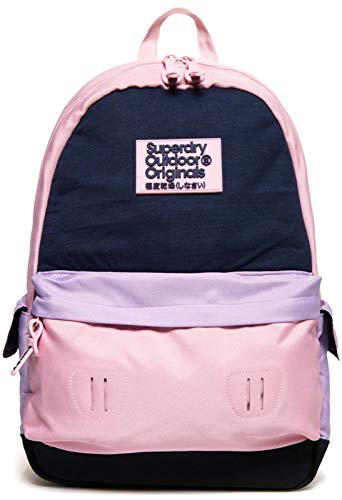 Superdry Rucksack JERSEY COLOURBLOCK MONTANA Pink, Size:ONE SIZE