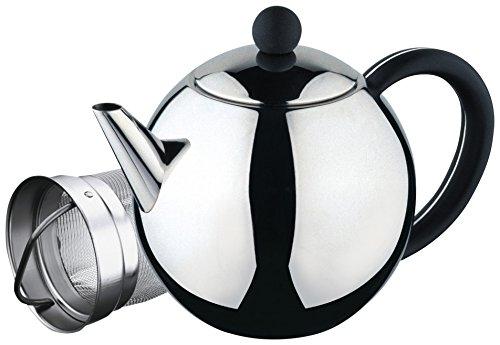 Café Ole ST-017X Teekanne, Edelstahl, Silber, 500 ml