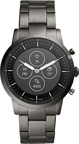[フォッシル] 腕時計 ハイブリッドスマートウォッチHR FTW7009 メンズ 正規輸入品 グレー