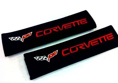 Corvette Seat Belt Cover Shoulder Pad Cushion (2 Pcs)