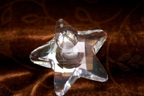 Swarovski Crystal ,Weihnachten zu Hause,Kerzenhalter Stern 601496