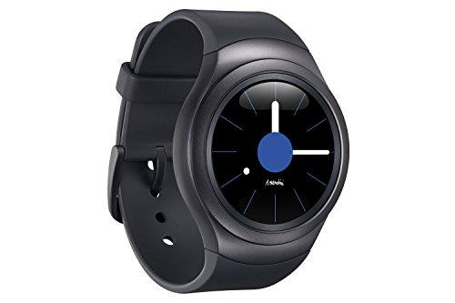 Samsung Gear S2 Sport - Smartwatch (1.2', Tizen, 512 MB de RAM, memoria interna de 4 GB), color gris oscuro [Versión importada: Podría presentar problemas de compatibilidad]