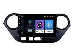 Autoxygen Android System 9 Inch MP4 Music Player HD 1080P Touch screen 2GB Ram For Hyundai Grand I10,AUTOXYGEN,Hyundai Grand I10