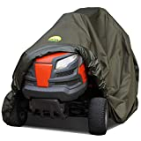 Family Accessories 100% Waterproof Riding Lawn Mower Cover, Heavy Duty Premium Water Resistant...
