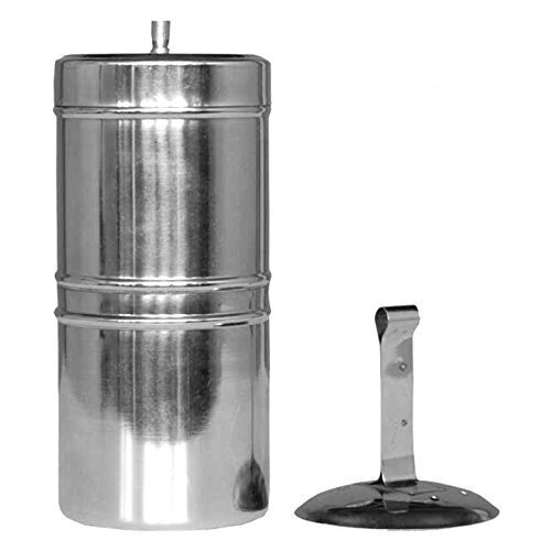 JAYANTHI Stainless South Indian Filter Coffee Maker 200Ml, 4-6 Cups