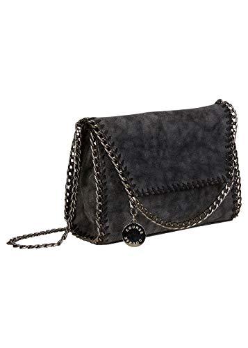Course Damen Handtasche Umhängetasche Crossbody Bag Kette Chain Bag