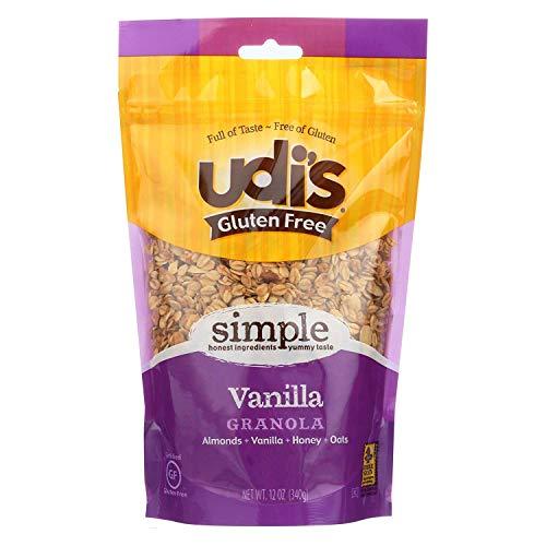 Udi's Granola - Gluten Free Vanilla - Case of 6 - 12 oz.