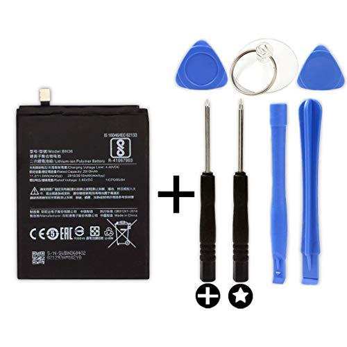 Bateria BN36 para XIAOMI MI A2 / 6X + Kit Herramientas/Tools