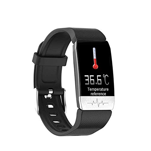 Lowest Price! Body Temperature Reference Thermometer Activity Tracker Fitness Trackers Smart Wristba...
