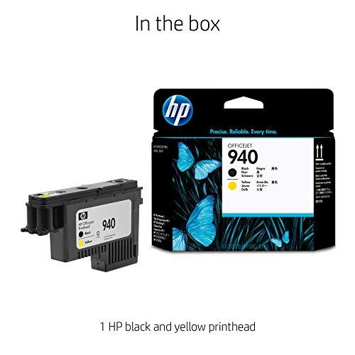 HP 940   Ink Printhead   Black & Yellow   C4900A