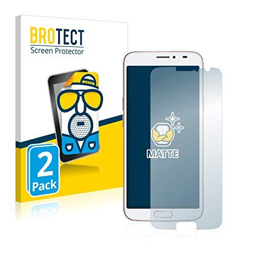 BROTECT 2X Entspiegelungs-Schutzfolie kompatibel mit Doro 8080 Bildschirmschutz-Folie Matt, Anti-Reflex, Anti-Fingerprint