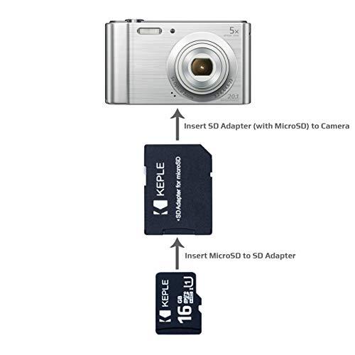 Tarjeta de Memoria MicroSD de 16GB Clase 10 Compatible con Samsung ...