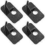 Magic&shell Arrow Rest 4PCS Plastic Archery Arrow Rest with Adhesive for Recurve Bow Hunting Archery...