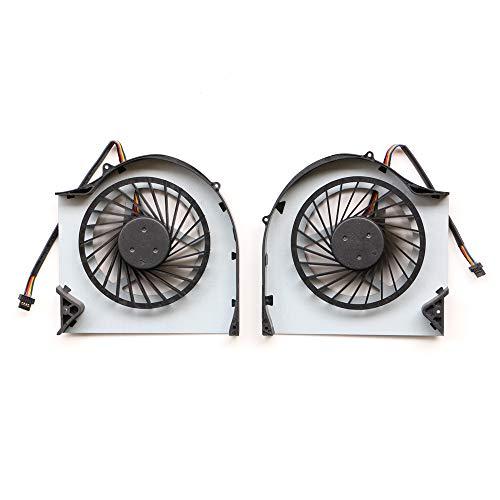 DXCCC Laptop-Kühler für EVGA SC17 GTX1070 Gaming-Laptop-Lüfter und CPU-Kühler