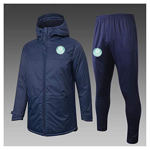 caijj Neue Herren Fußballuniform Geschenk Baumwolle Kleidung Fußball kältesicher Fußballfan kältesicher Anzug Fußball Hoodie männlich-B15-s