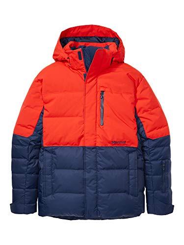 Marmot Shadow Jacket Chaqueta de Plumas para la Nieve, 700 Pulgadas cúbicas, Ropa de esquí y Snowboard, Resistente al Viento, Resistente al Agua, Transpirable, Hombre, Arctic Navy Victory Red, L
