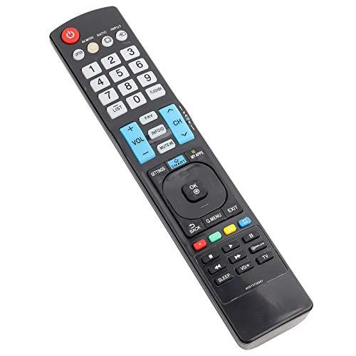DAUERHAFT Control Remoto de TV de bajo Consumo de energía Universal de Larga Distancia de transmisión Control Remoto de TV Digital, para AKB73756567, para Smart TV