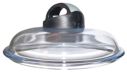 Ballarini Cortina Granitium Igloo Coperchio in Vetro Trasparente, 18 cm
