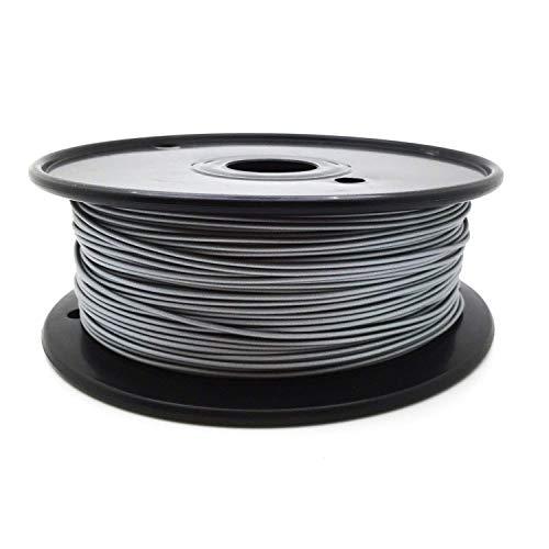 AptoFun Metal- Aluminum PLA Filament (1,75mm, 500g, 190°C - 230°C) mit Premium Qualität für 3D Drucker MakerBot RepRap MakerGear Ultimaker UVM/auch für 3D-Stifte