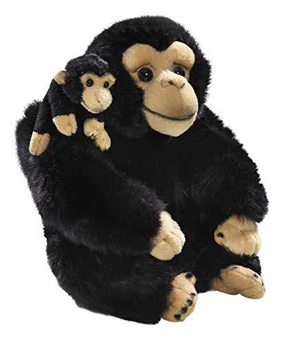 Carl Dick Peluche - Chimpancé con Bebé (28cm) [Juguete] 3160