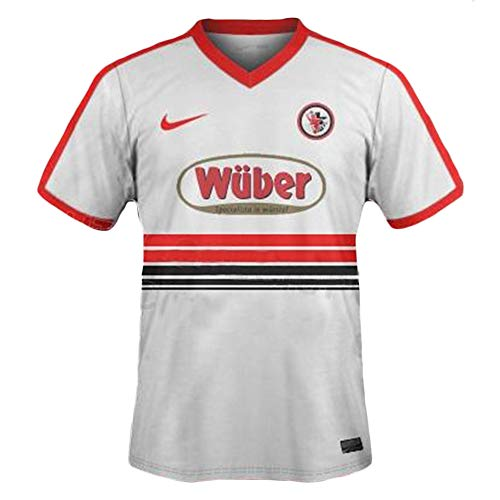 Foggia Calcio 1920 Fog03 Gara Away Jersey, Blanco/Rojo/Negro, M para Hombre