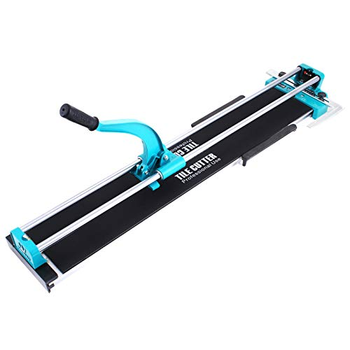BestEquip Manual Tile Cutter 40 Inch Tile Cutter Machine for Large Tiles Handyman Ceramic Adjustable Professional Manual Tile Cutter Hand Tool (40 Inch)