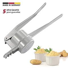 Westmark Spätzle/aardappelpers, met ronde perforatie, gegoten aluminium, lengte: 41 cm, Spätzlepress, zilver, 61102260*