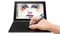 Lenovo Yoga Book 25,5 cm (10,1 Zoll Full HD IPS Touch) Convertible Tablet-PC (Intel Z8550, 4GB RAM, 64GB eMMC, LTE, Android 6.0) grau, QWERTY Tastatur