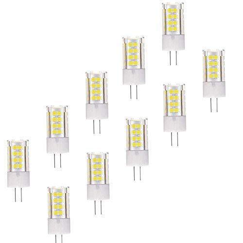Tageslicht GlüHbirne Stiftsockellampe LED-Glühbirnen für die Innenbeleuchtung Nachtglühbirnen Badezimmer Glühbirne Badezimmer Glühbirnen cool White,10pack