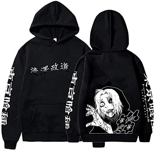 Nest Home Tokyo Ghoul Takizawa Felpa Uomo e Donna Casual Felpa Streetwear