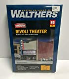 Walthers Cornerstone HO Scale Building/Structure Kit Rivoli Movie Theater